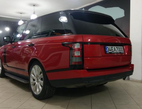 Range Rover Vogue ( Mat Kırmızı )