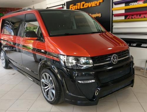 Volkswagen ( Turuncu – Siyah Araç Kaplama)