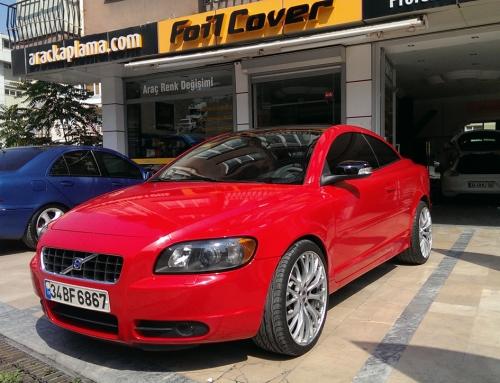 Volvo ( Kırmızı Araç Kaplama )