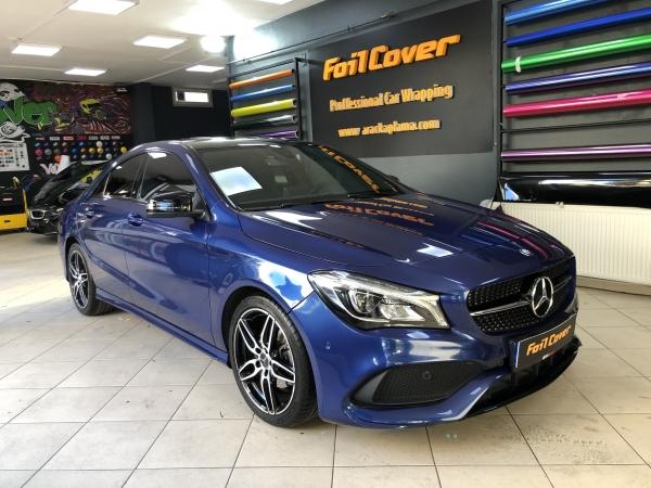 mercedes gece mavisi araç kaplama araç kaplama fiyatları 2019 foil cover araç kaplama