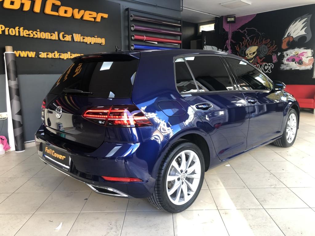 Volkswagen Golf poliüretan boya koruma filmi araç kaplama araç kaplama fiyatları 2019 foil cover araç kaplama