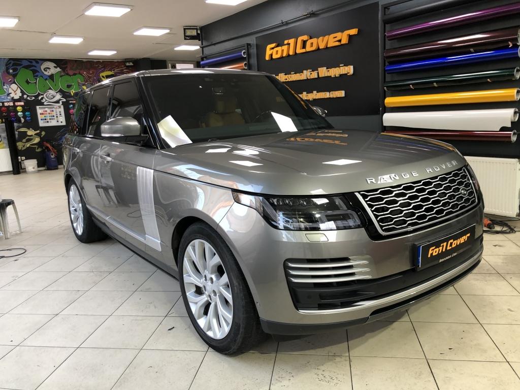 range rover şeffaf koruma araç kaplama fiyatları 2019 foil cover araç kaplama