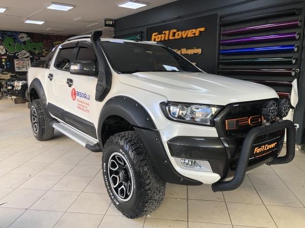 ford ranger inci beyazı araç kaplama fiyatları 2019 foil cover araç kaplama