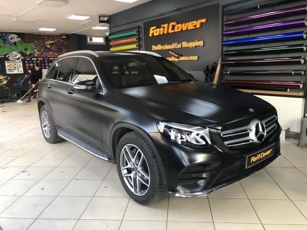 mercedes mat satin siyah araç kaplama fiyatları 2019 foil cover araç kaplama